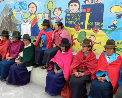 Quechua women of Ecuador